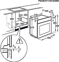 AEG BPS351120M - Horno (Medio, Horno eléctrico, 71 L, 71 L, 30-300 ...