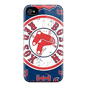 iphone 6 Case Cover - Slim Fit Tpu Protector Shock Absorbent Case (boston Red Sox)