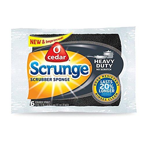 O-Cedar Heavy Duty Scrunge Scrub Sponge (Pack of 18) by O-Cedar (Image #5)