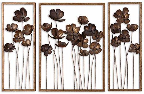 Uttermost Metal Wall Decor Set - Uttermost Metal Tulips Wall Sculpture, Set