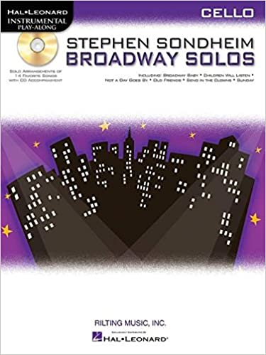 stephen sondheim broadway solos horn hal leonard instrumental play along