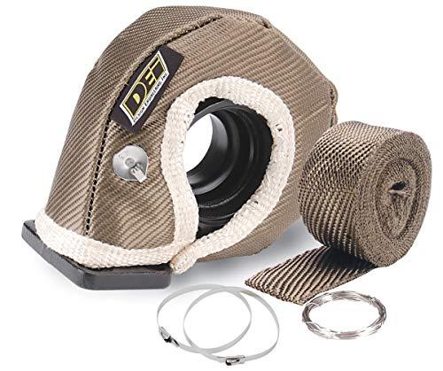 "Price comparison product image Design Engineering 010141 T3 Titanium Turbo Shield Kit - Custom Fit Turbo Blanket,  19"" x 2.5"""