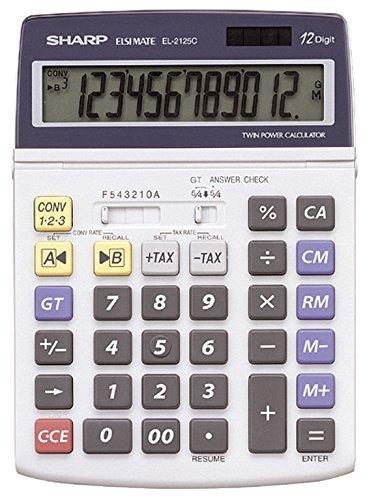 Sharp EL 2125 C Taschenrechner