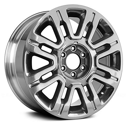 (Replacement 8 Spokes Polished Factory Alloy Wheel Fits Ford Expedition)