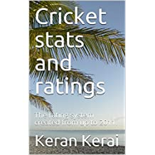 Cricket stats and ratings: The rating system created from up to 2011.