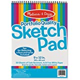"Melissa & Doug Sketch Pad 9"" by 12"""