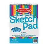 Melissa & Doug Sketch Pad 9'' by 12''