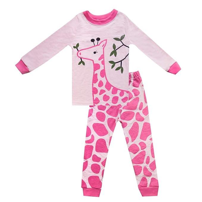 CDREAM Conjuntos De Pijamas Para Niños Ropa De Dormir Para Niños Ropa De Dormir De Manga Larga Para Niños Pequeños Algodón: Amazon.es: Ropa y accesorios