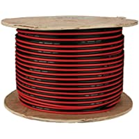 Install Bay Speaker Wire Red and Black 18 Gauge 500 Foot Each -SWRB18500