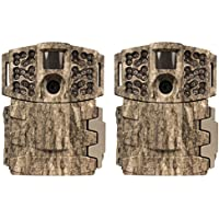 (2) Moultrie No Glow Invisible 14MP Mini 888i Infrared Game Cameras | M-888i