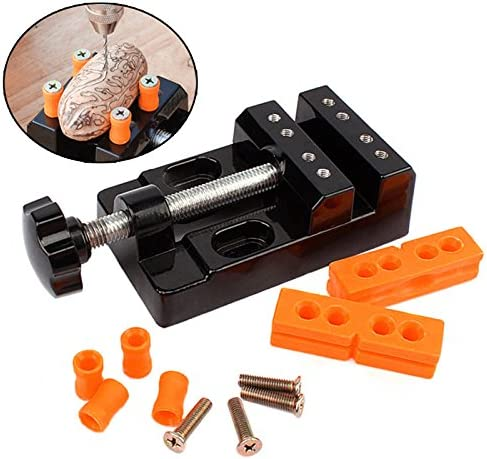 Majome universel Mini Banc /Étau Pince en alliage daluminium Noyer Ecrou Clip Bijoux Tenaille Table Pince /à d/écouper fixe outils