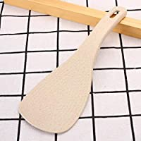 Wheat Straw Large Spoon Rice Paddle Scoop Kitchen Table Serving AccessoriesLDUK