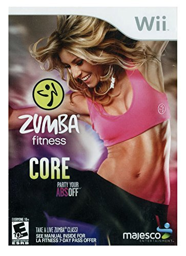 Zumba Fitness Core - Nintendo Wii (Cutting Boards For Handicapped)