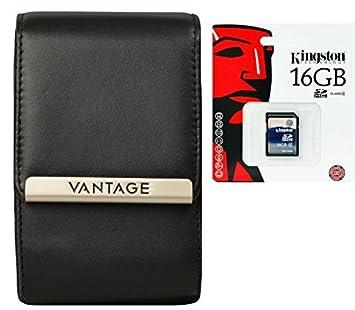 Cámara Bolsa Vantage Pro Piel con Tarjeta SD de 16 GB para ...