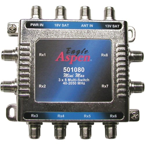 Eagle Aspen 501080 3 In 8 Out Multi-Switch (Aspen Antenna)
