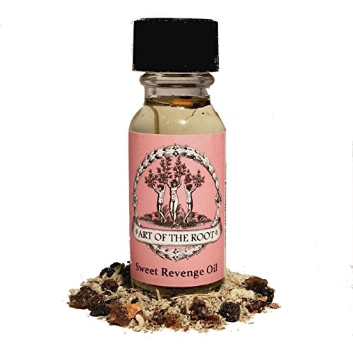 Sweet Revenge Oil 1/2 oz for Cursing, Retaliation & Payback Hoodoo Wiccan Pagan Voodoo Conjure Magick
