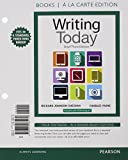 Writing Today, Brief Edition, Books a la Carte Edition Plus MyWritingLab with Pearson EText -- Access Card Package 3rd Edition