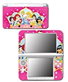 Princess Friends Pink Cinderella Snow White Ariel Jasmine Belle Sleeping Beauty Princess in Every Girl Video Game Vinyl Decal Skin Sticker Cover for Original Nintendo 3DS XL System