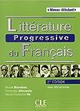 Littérature progressive du Français - Niveau débutant - Livre + CD - 2ème édition
