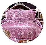 Emoji Bed Set Walmart Luxury Jutecell Satin Jacquard Silk Bedding Set Cotton lace Tencel Satin Bed Sheet Set Bedclothes Queen/Kingsize Bed cover4/6pcs,6,King 6pcs