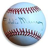 Eddie Murray Signed Autograph Nl Baseball Orioles Mets Felt Pen JSA Certified L00797
