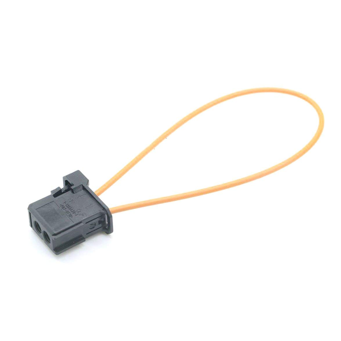 Banbie Automotive Fiber Optic Loop Kunststoff Testring Stecker /& Buchse Kit Adapter