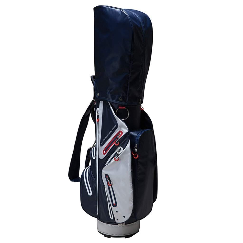 NTWXY Golf Bag, Lightweight Bag, Waterproof Material, Blue, 390×330×920MM