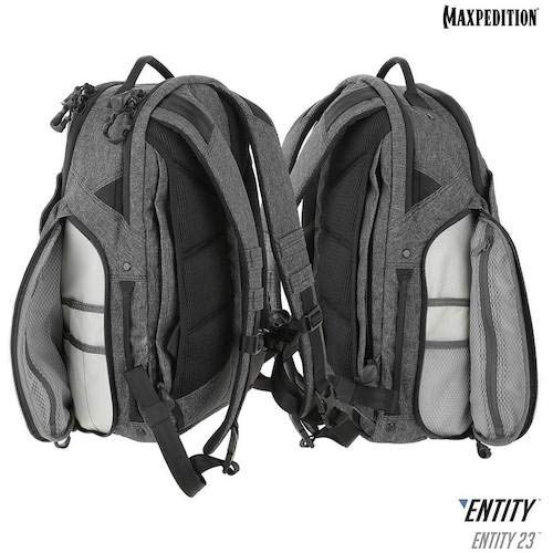 Maxpedition Gear Entity 23 CCW-Enabled Laptop Backpack 23L for Covert Concealed Carry, Charcoal by Maxpedition (Image #9)