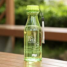CALISTOUS Portable Cycling Cup Sports Travel Camping Unbreakable Leak-proof Water Bottle 550ML