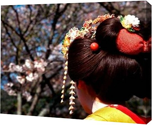 japan-kyoto-geishas-head-on-philosophers-path-by-nancy-steve-ross-15-x-20-gallery-wrapped-giclee-can