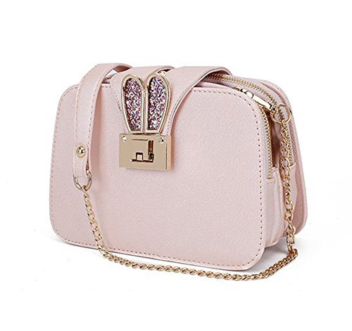 2 Pink Al Bolso Para Blanco Mujer Hcxin Hombro nY0ROBHOx