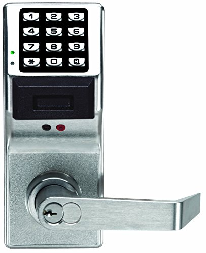 Alarm Lock Trilogy Electronic Proximity Lock - w IC - Satin Chrome Finish - PDL3001IC by Alarm Lock