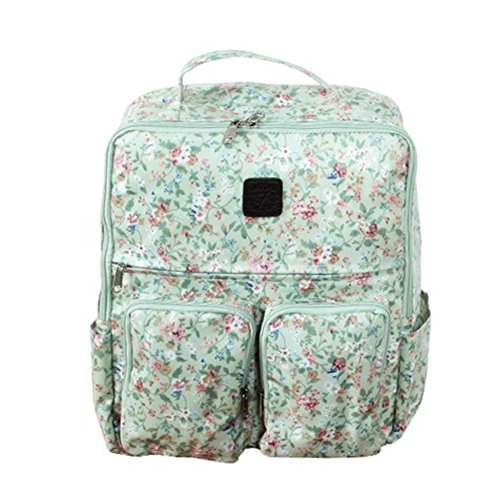 HARRA BABY Diaper Tote Bags, Diaper Backpack For Parents (Mint)