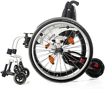 ZJN-JN Silla de Ruedas Accesorios para discapacitados Handbike Handbike Bike Trailer 100W Motor 24V / 4.4Ah Handbike Handbike (Color : Rigid WC Connect)