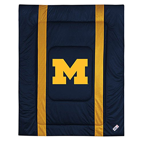 NCAA Comforter Size: Full/Queen, NCAA Team: Michigan by Sports Coverage