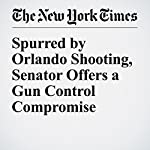 Spurred by Orlando Shooting, Senator Offers a Gun Control Compromise | David M. Herszenhorn