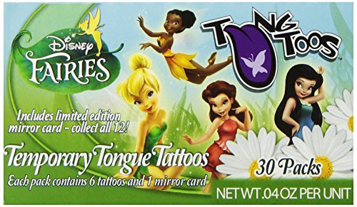 Tung-Toos Candy, Disney Fairy, 6 Count (Pack of