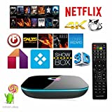Mifanstech Q-Box Android 5.1 Tv Box Amlogic S905 Quad Core Kodi 16.0 2G/16G 4K Bluetooth 4.0 2.4G/5G Dual WIFI 1000M Gigabit Streaming Media Player