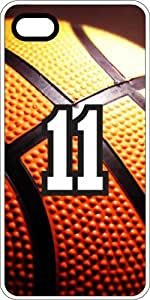 Basketball Sports Fan Player Number 10 White Plastic Decorative iphone 6 4.7 Case