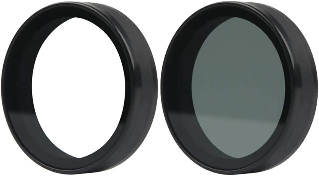 Lens Accessories for Xiaomi Mijia Small Camera 38mm UV Protection ND Dimmer Lens Filter Color : Black Black