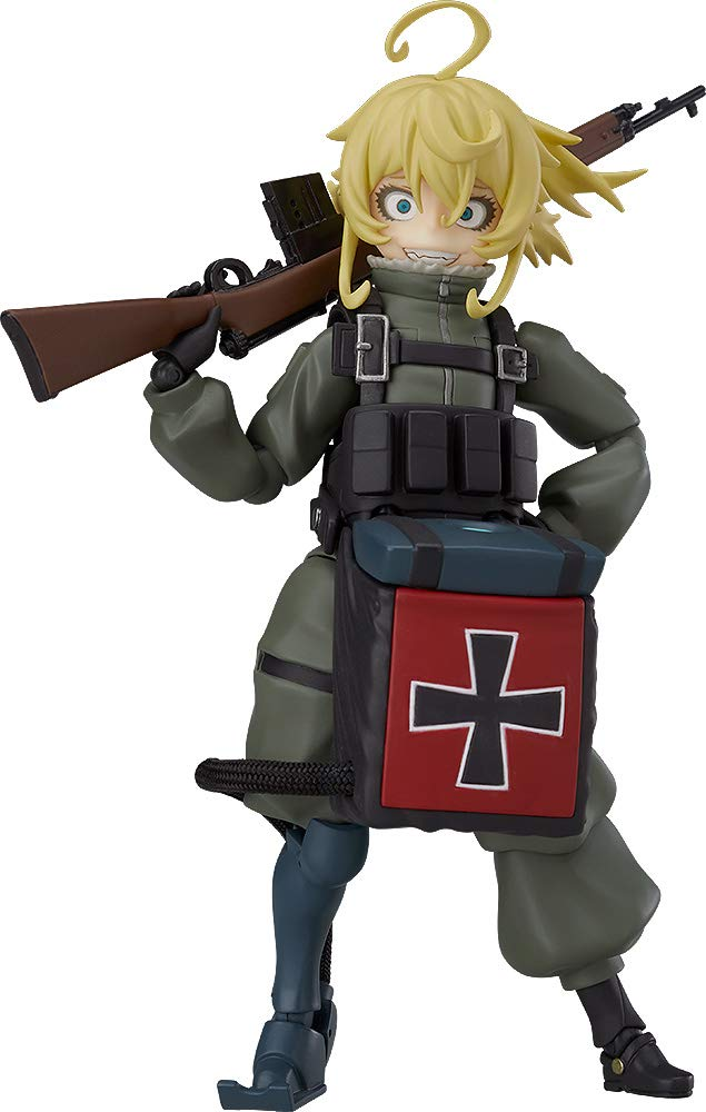 figma 劇場版 幼女戦記 ターニャ・デグレチャフ ノンスケール ABS&PVC製 塗装済み可動フィギュア