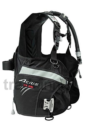 Aeris EX100 Weight Integrated BC - EX 100 BCD, Scuba Dive Diving Divers BC BCD, X-LARGE 55 lbs of lift (Compensators Buoyancy Accessories Gear Bc)