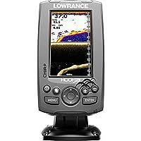 Lowrance Fischfinder Hook 4X Mid/High/DownScan, 000-12641-001