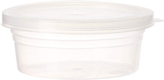 LJY 48/piezas de pelotas de espuma de almacenamiento recipientes con tapas para 20/G Slime