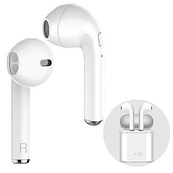 Auriculares Bluetooth, Auriculares inalámbricos Mejorada Versión Auriculares in-Ear con Cargador Portátil y un