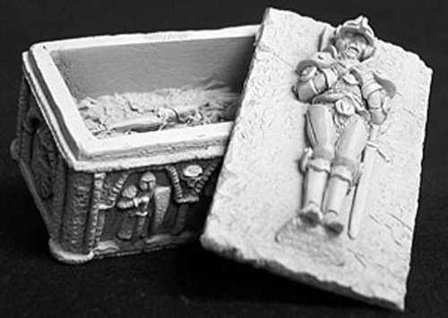 Medieval Sarcophagus Miniature (Reaper #2627)