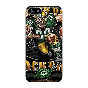 For SamSung Galaxy S4 Mini Phone Case Cover Protective Hard For SamSung Galaxy S4 Mini Phone Case Cover Support Personal Customs Colorful Green Bay Packers Pattern [dOR4274nrJp]