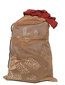 Amazon.com: Mesh Laundry Bag Beige: Home & Kitchen