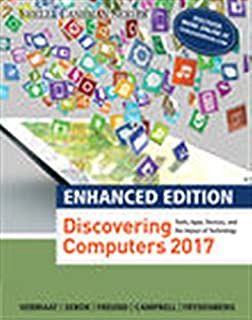 Enhanced Discovering Computers C2017 Shelly Cashman Series MindTap Course List