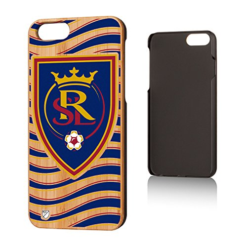 Keyscaper MLS Real Salt Lake Wave Case for iPhone 6/6S, Wood by Keyscaper